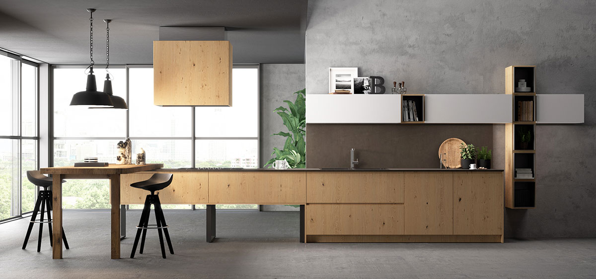 Nuova Gallery per il Modello Cortina « Biefbi Cucine