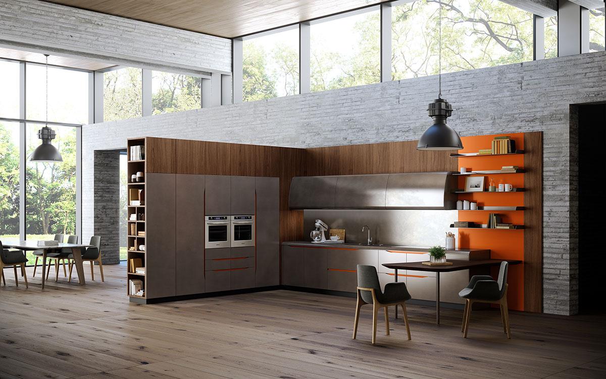 Biefbi cucine for Cucine italiane design moderne